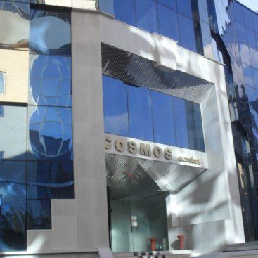 COSMOS CENTER Ανακατασκευή όψης εμπορικού κέντρου