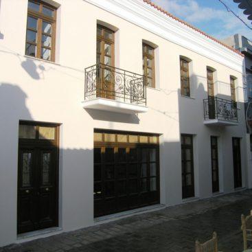 Πλήρης ανακατασκευή διατηρητέου κτιρίου επί της οδού Αγ.Φιλίππου στο Μοναστηράκι-Αθήνα